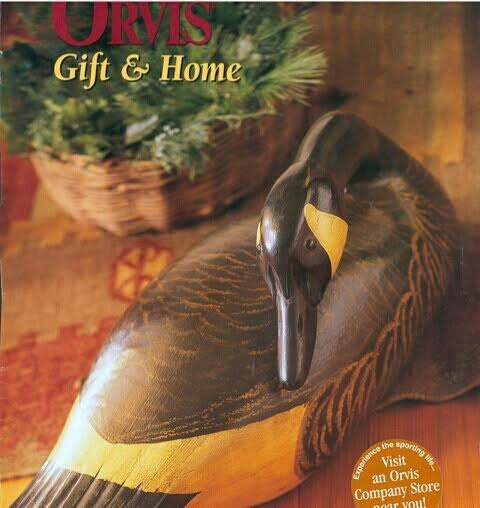 Christmas Cover of Orvis with Canada Goose