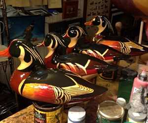Woodducks ready to be antiqued