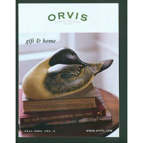 Preening Pintail- Orvis Cover
